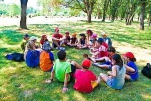campamento para niños con asma y alergias