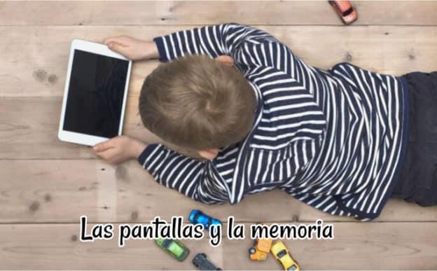 pantallas y la memoria